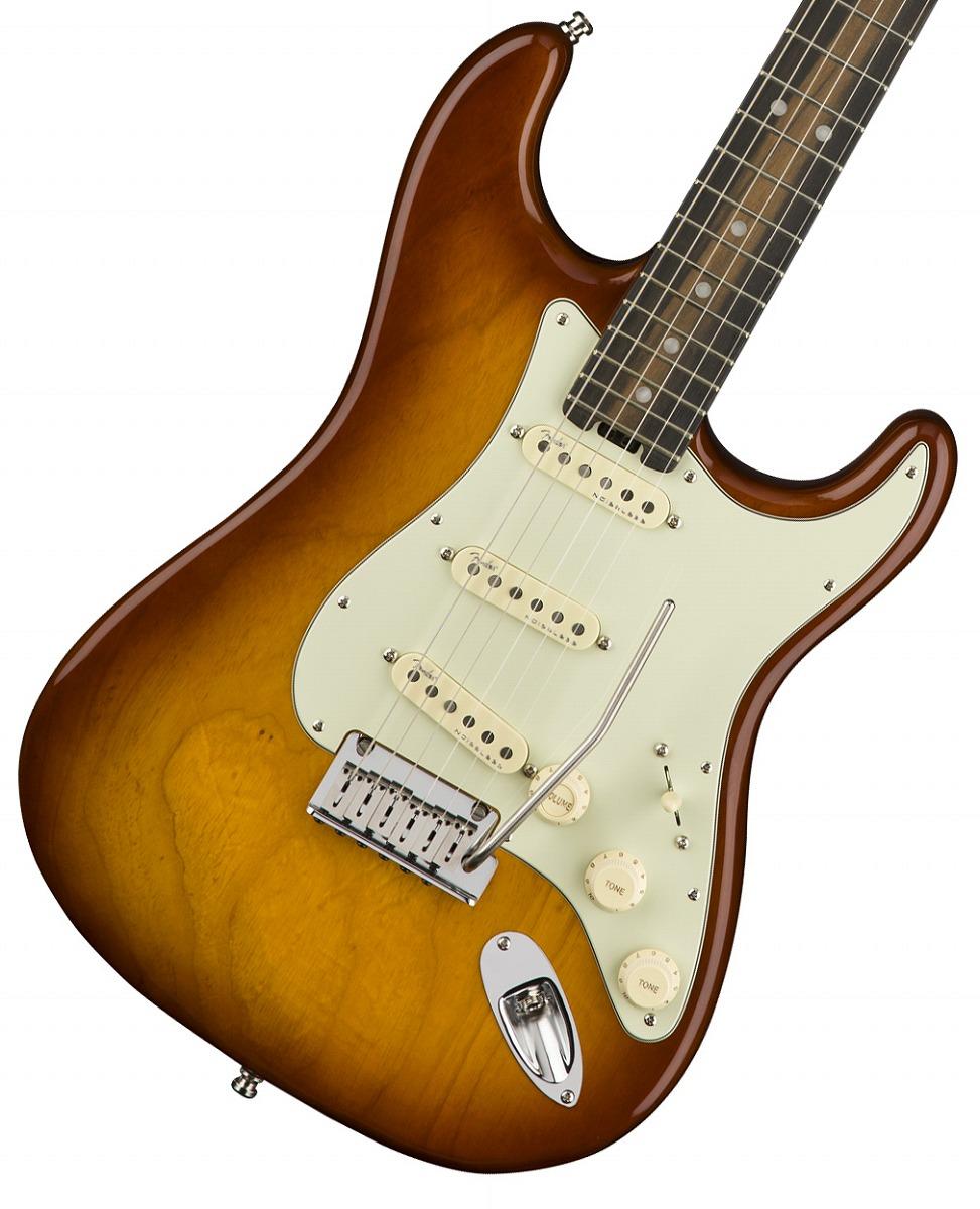 Fender USA / American Elite Stratocaster Tobacco Sunburst Ebony Fingerboard【YRK】