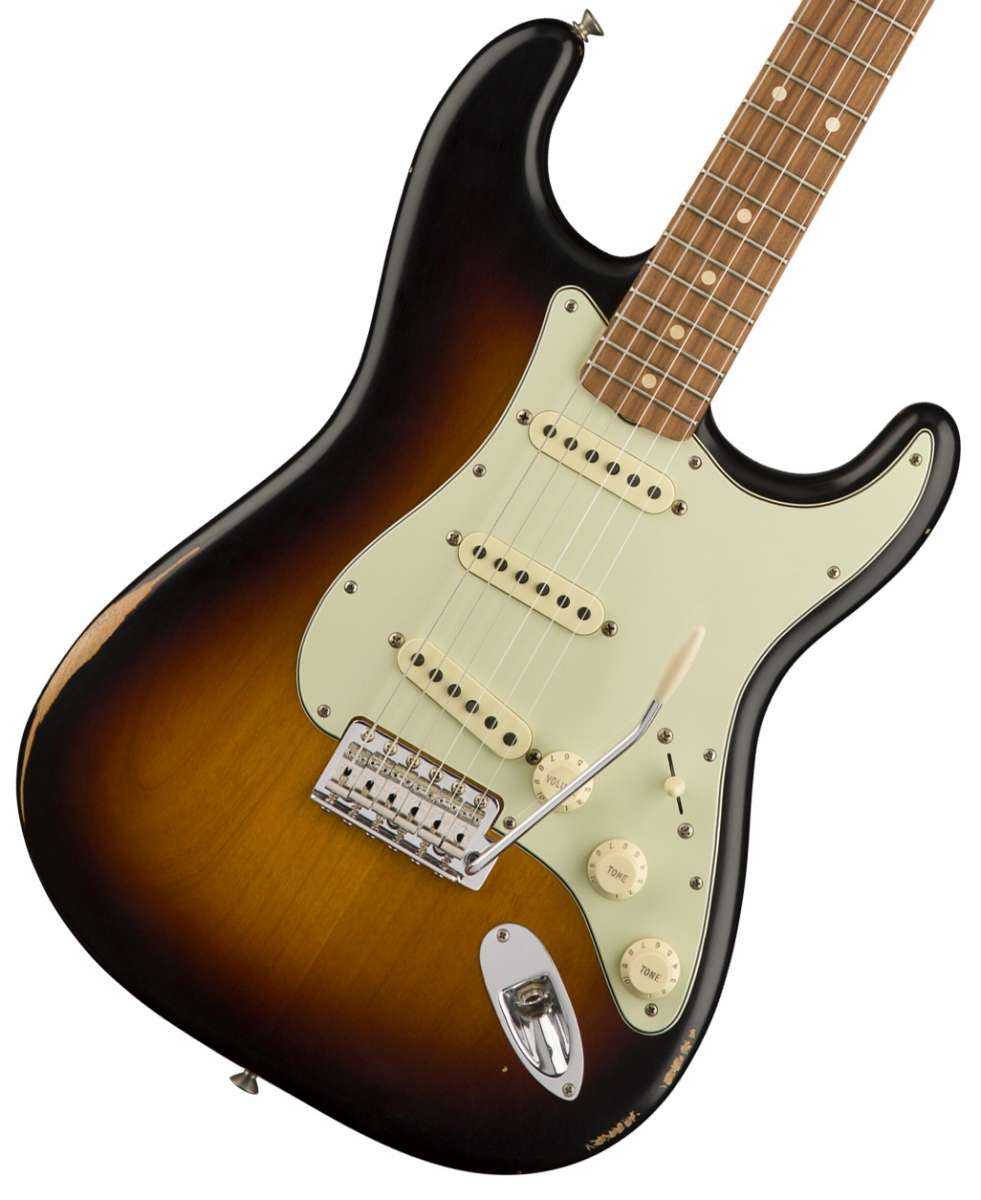 【増税前タイムセール:30日12時まで】Fender / Classic Series Road Worn 60s Stratocaster 3-Color Sunburst Pau Ferro【YRK】