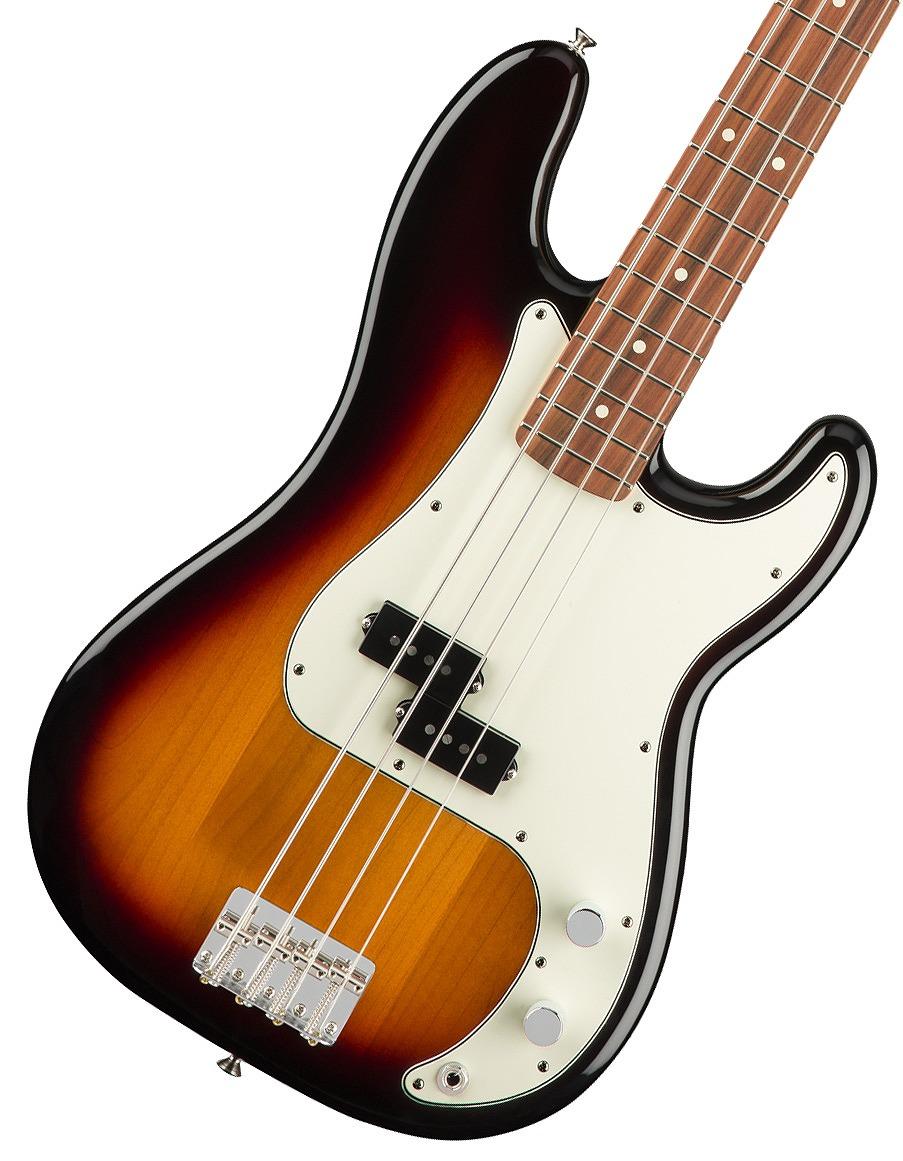【タイムセール:29日12時まで】Fender / Player Series Precision Bass 3-Color Sunburst Pau Ferro【YRK】