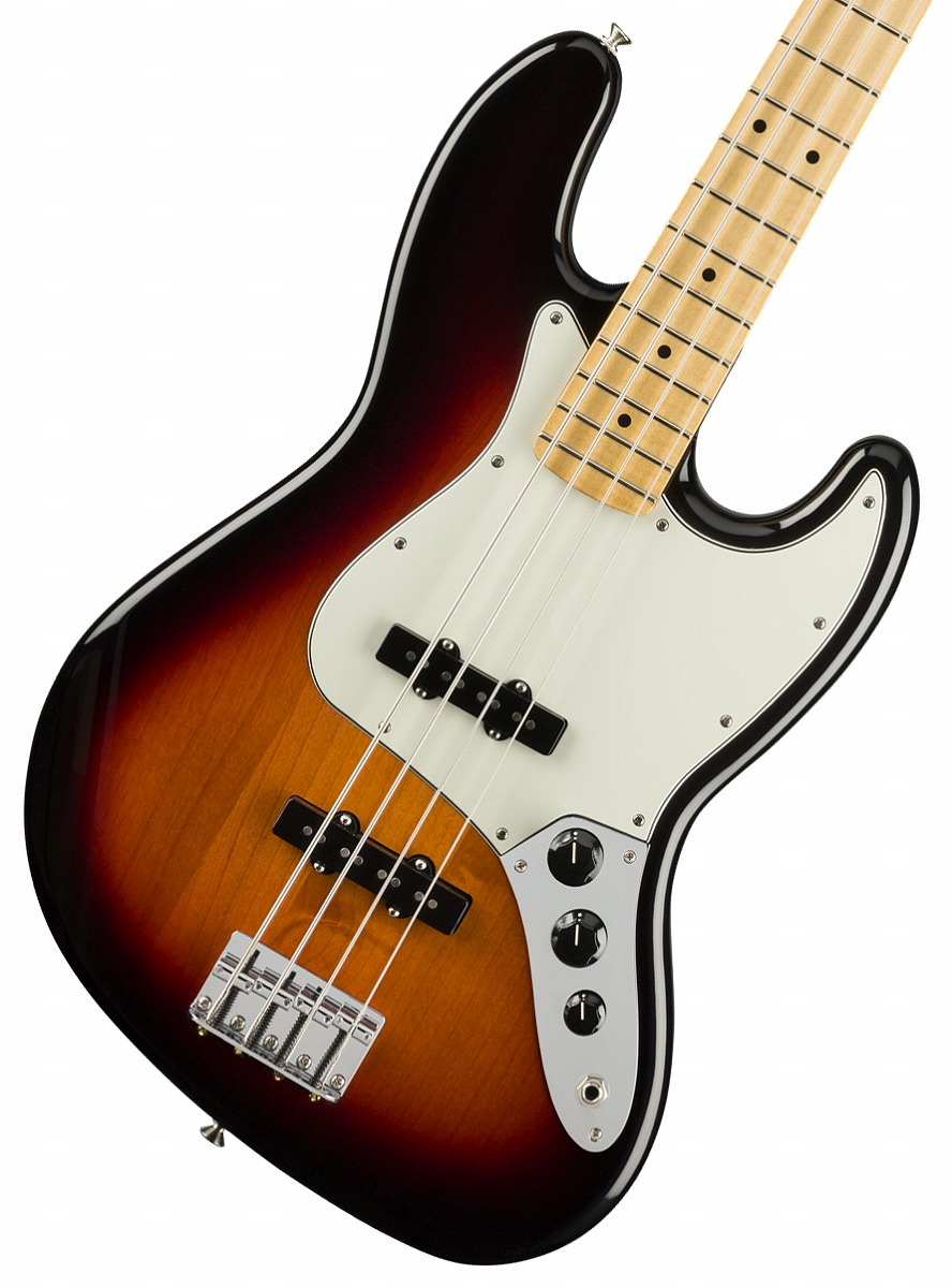 【タイムセール:29日12時まで】Fender / Player Series Jazz Bass 3-Color Sunburst Maple【YRK】【新品特価】