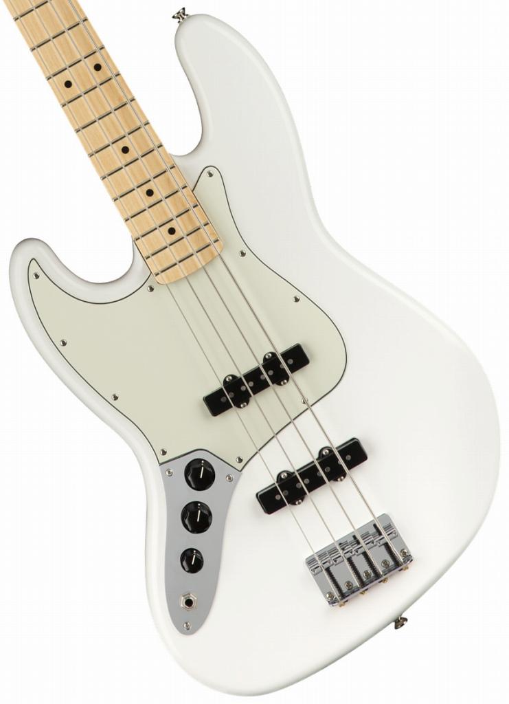 Fender / Player Series Jazz Bass Left-Handed Polar White Maple【YRK】