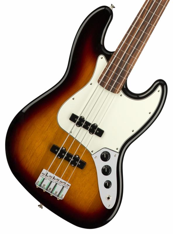 Fender / Player Series Jazz Bass Fretless 3-Color Sunburst Pau Ferro【YRK】
