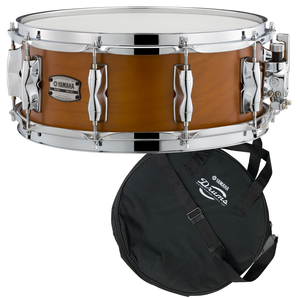 YAMAHA / RBS1455RW ヤマハ Recording Custom Wood Snare Drum 14x5.5 スネアバッグ付き【YRK】