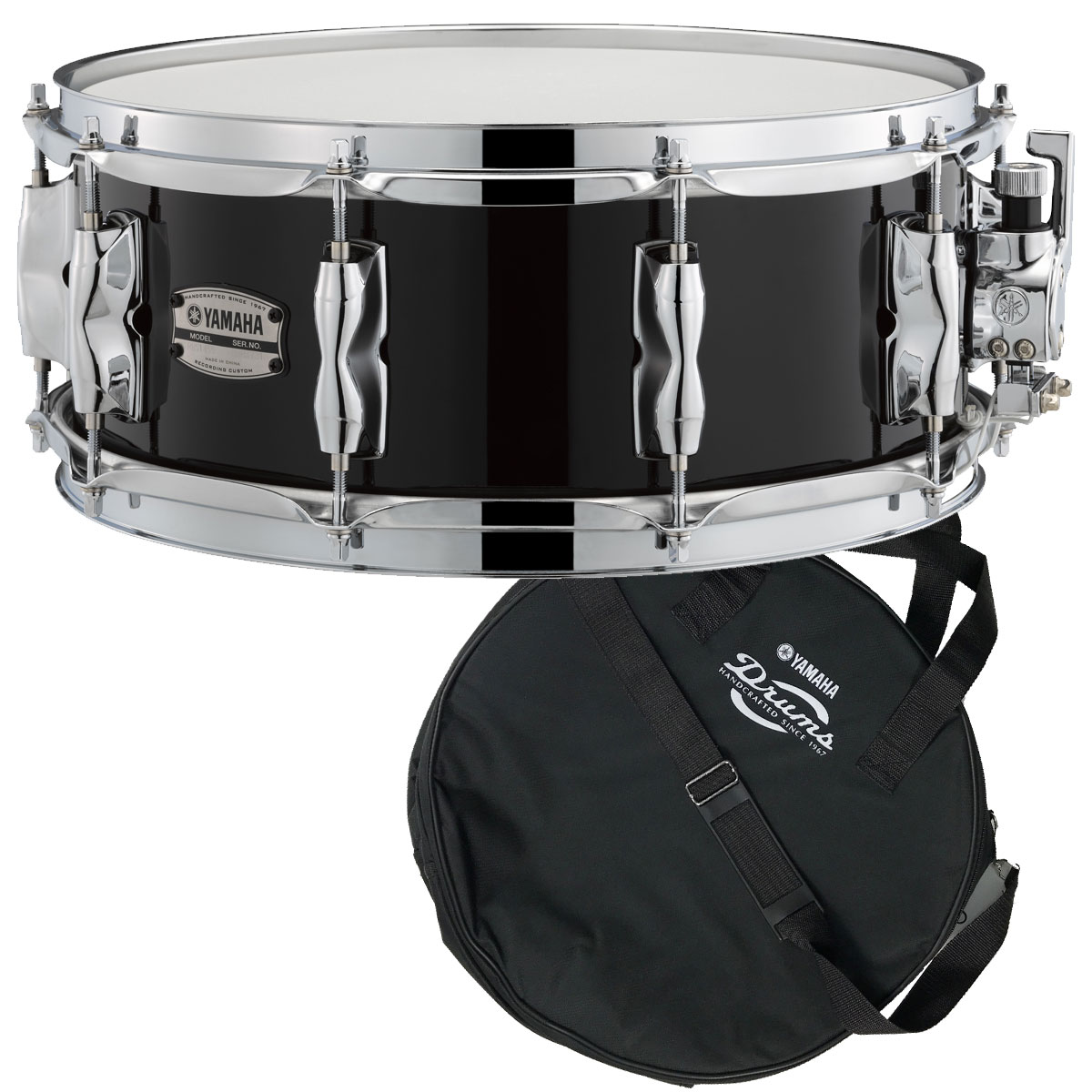 YAMAHA / RBS1455SOB ヤマハ Recording Custom Wood Snare Drum 14x5.5 スネアバッグ付き【YRK】