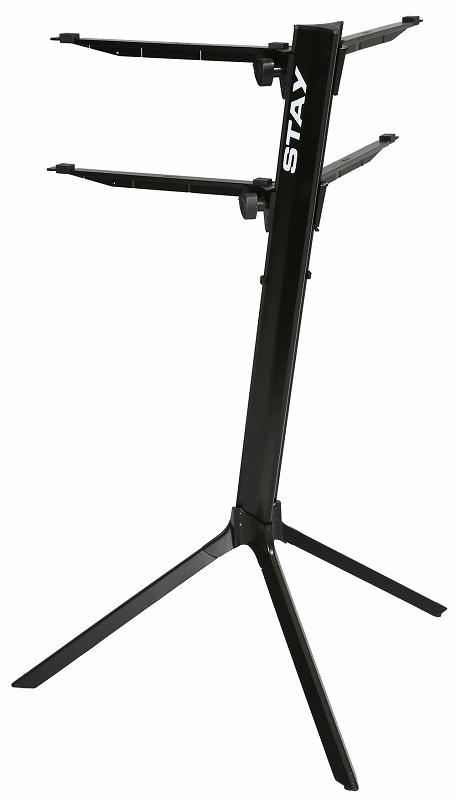 STAY ステイ / 1100/2 S C290 BK (ブラック) カーブアーム スリム2段スタンド【お取り寄せ商品】