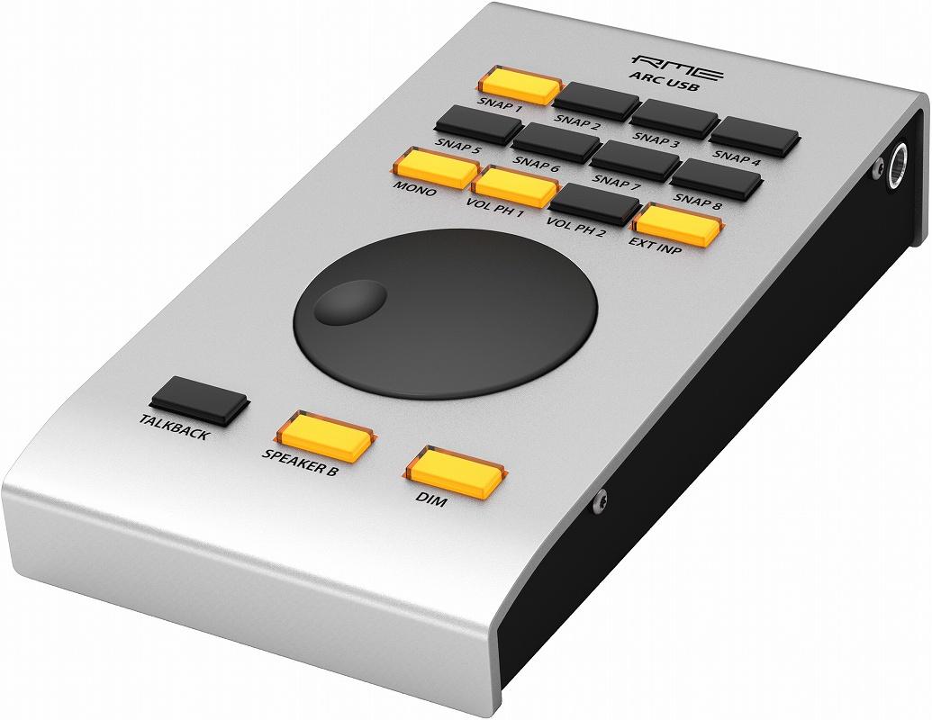 RME アールエムイー / ARC USB (Advanced Remote Control USB) TotalMix FX リモート・コントローラー【お取り寄せ商品】【PNG】