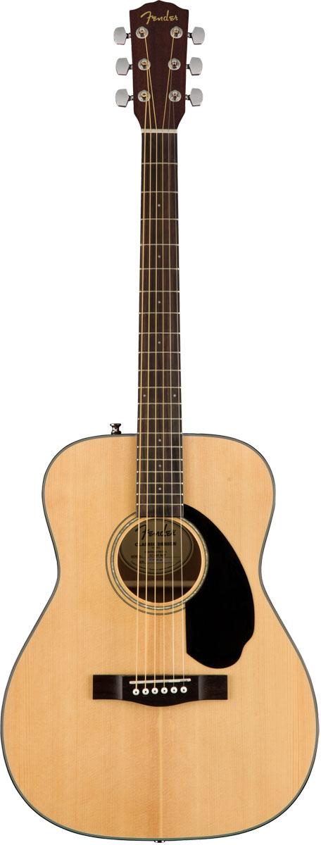 Fender Acoustic / CC-60S Concert Natural WN フェンダー アコースティックギター アコギ 【お取り寄せ商品】【YRK】