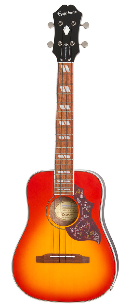 Epiphone / Hummingbird Acoustic/Electric Ukulele Outfit Tenor Faded Cherry Burst (FC) エピフォン ウクレレ テナー