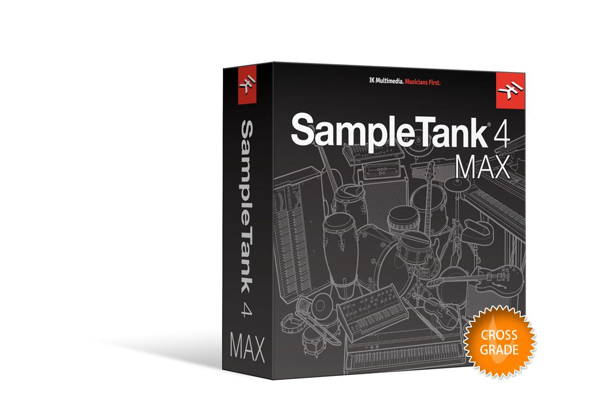 IK Multimedia アイケーマルチメディア / SampleTank 4 MAX クロスグレード【お取り寄せ商品】