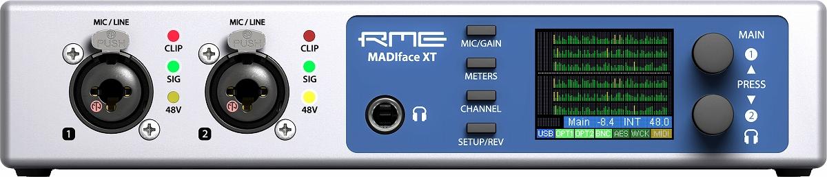 RME アールエムイー / MADIface XT USB3オーディオ・インターフェイス【お取り寄せ商品】【PNG】