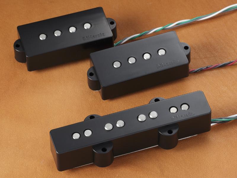 Dimarzio ディマジオ / Electric Bass Pickup DP251 Black / Area P+J【WEBSHOP】