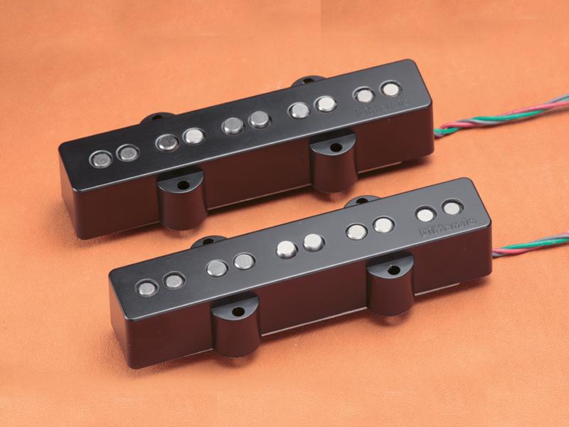 Dimarzio ディマジオ / Electric Bass Pickup DP552 Black / Area J5 Set【WEBSHOP】