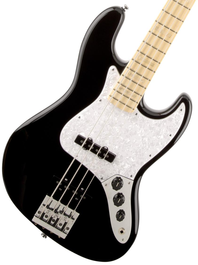 FENDER USA / Geddy Lee Jazz Bass Maple Fingerboard Black フェンダー ジャズベース ゲディー・リー【お取り寄せ商品】【YRK】