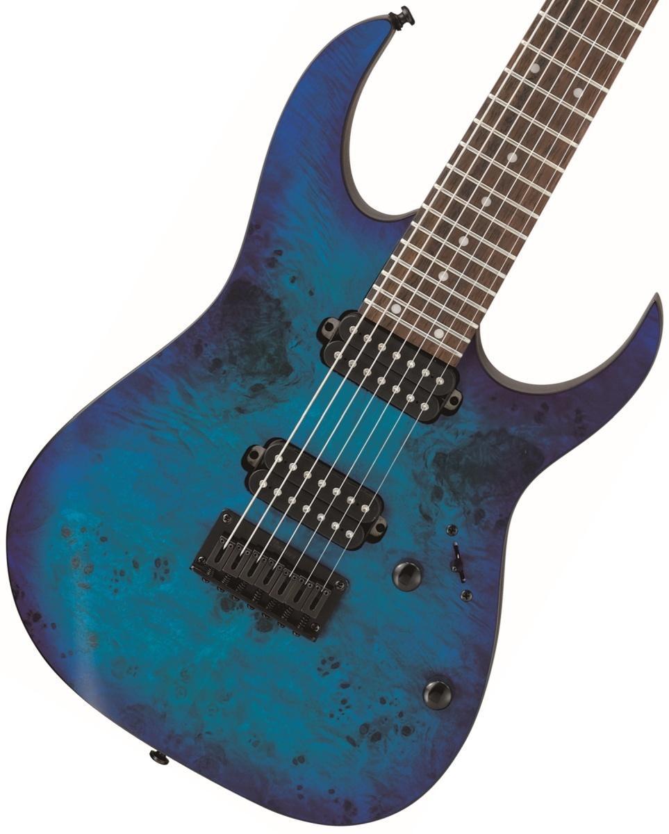 Ibanez / RG7421PB-SBF Sapphire Blue Flat アイバニーズ 7弦ギター《チューナープレゼント!/+811170800》