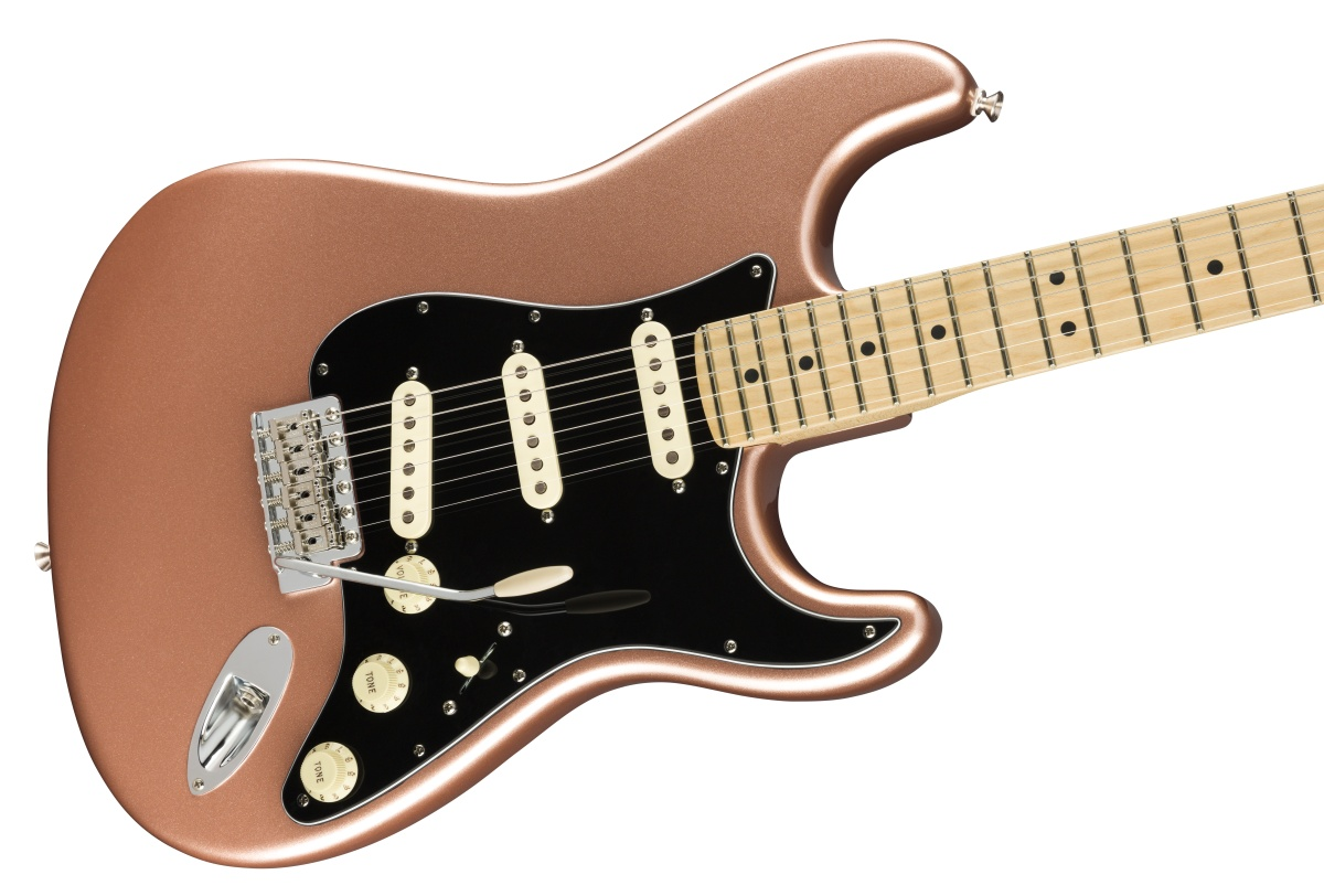 Fender USA / American Performer Stratocaster Maple Fingerboard Penny フェンダー《純正ケーブル&ピック1ダースプレゼント!/+661944400》