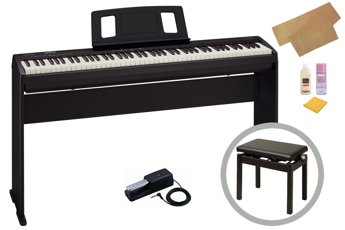 最安価格 Roland ローランド/ ローランド FP-10-BK【オプションセット Roland!】ポータブル・ピアノ【お手入れセットプレゼント:meinte-set】【YRK】【PTNB】, 和田山町:bed89127 --- sturmhofman.nl