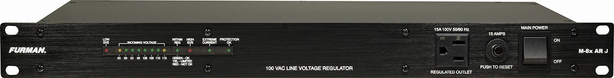 FURMAN ファーマン / M-8x AR J 100V 安定化電源装置【お取り寄せ商品】