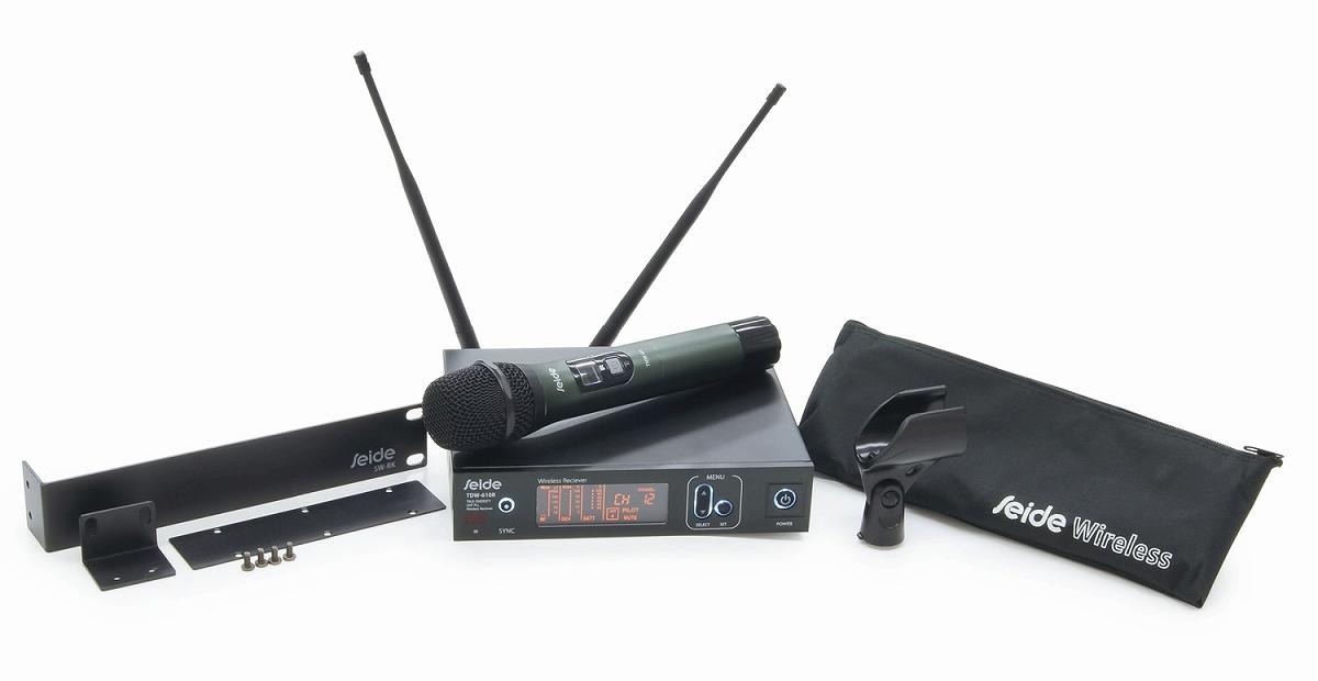 SEIDE ザイド / TDW 800 Handheld Set B帯ワイヤレスマイクシステム【お取り寄せ商品】