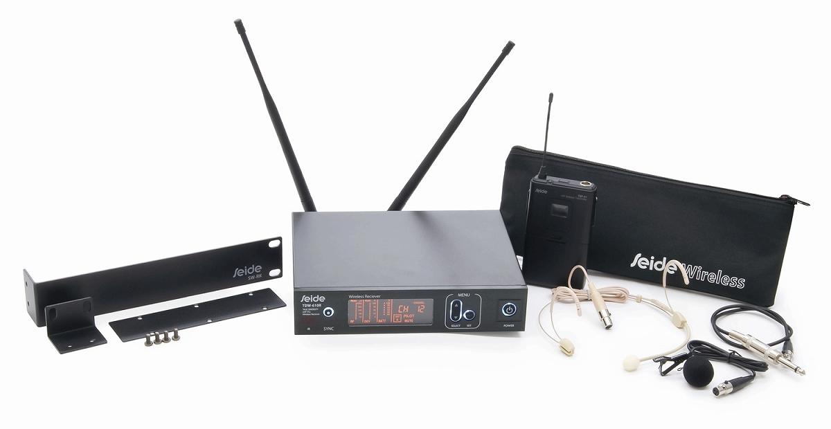 【在庫あり】SEIDE ザイド / TDW 800 Beltpack Set B帯ワイヤレスマイクシステム
