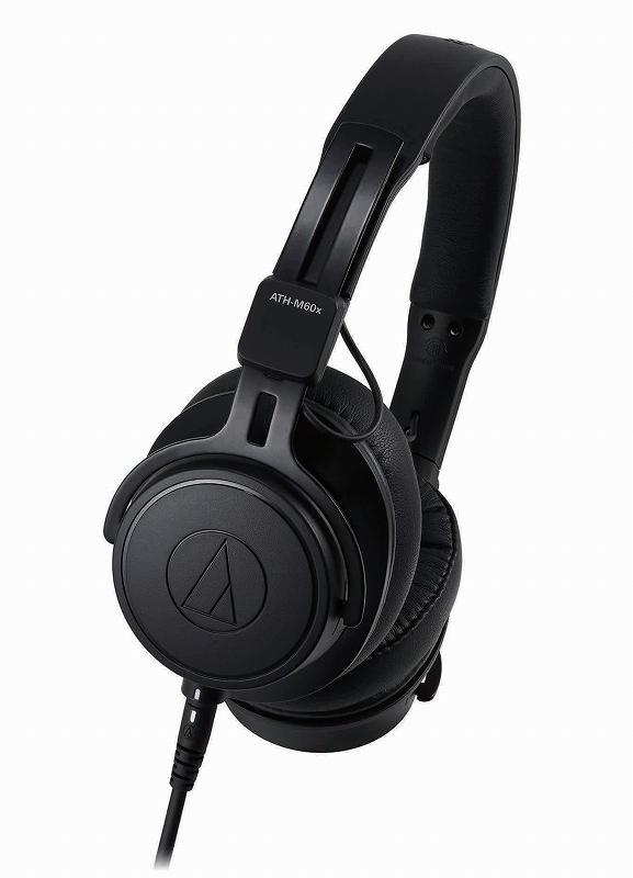 audio-technica オーディオテクニカ / ATH-M60x オンイヤーモニターヘッドホン【お取り寄せ商品】