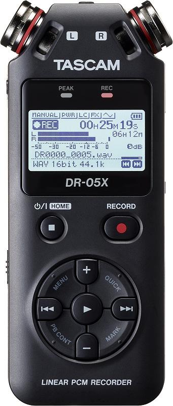 【ラッピング無料】 TASCAM タスカム / DR-05X ステレオオーディオレコーダー/USBオーディオインターフェース【お取り寄せ商品】, イズクラブ 89318edb