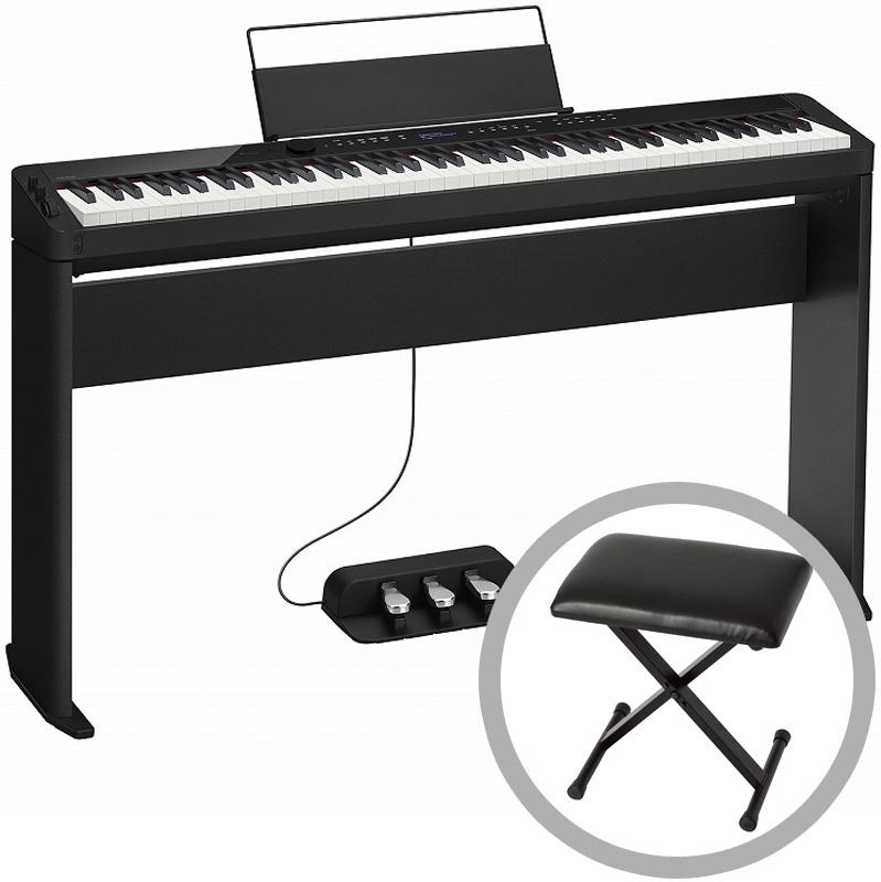 CASIO カシオ / PX-S3000BK【椅子セット!】(ブラックカラー) デジタルピアノ【お手入れセットプレゼント:set78331】