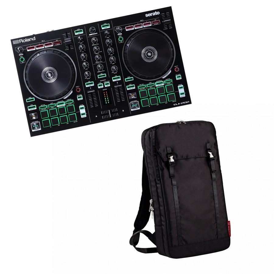 Roland ローランド / AIRA DJ-202【バックパック ブラックセット!】Serato DJ用 DJコントローラー【YRK】