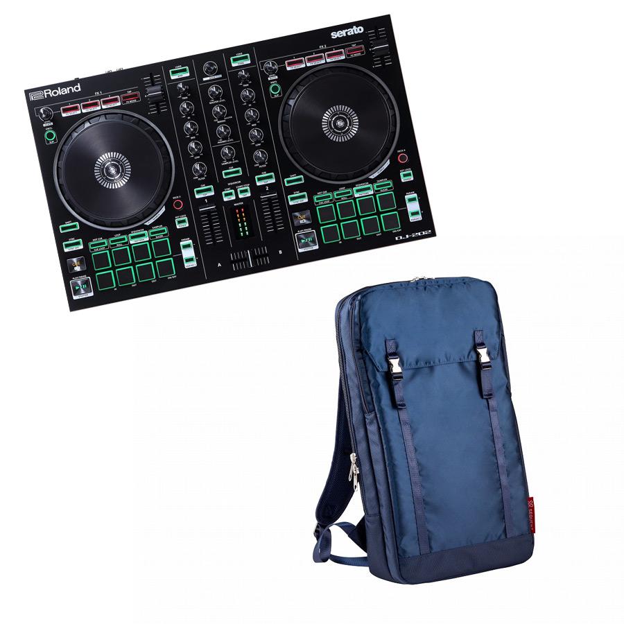 Roland ローランド / AIRA DJ-202【バックパック ネイビーセット!】Serato DJ用 DJコントローラー【YRK】