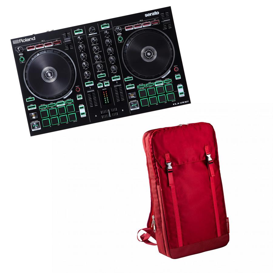Roland ローランド / AIRA DJ-202【バックパック レッドセット!】Serato DJ用 DJコントローラー【YRK】
