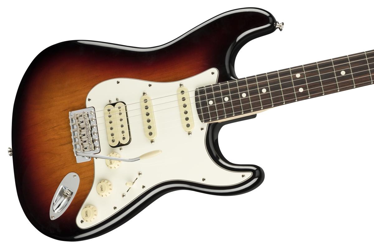 Fender USA / American Performer Stratocaster HSS Rosewood Fingerboard 3-Color Sunburst フェンダー【お取り寄せ商品】