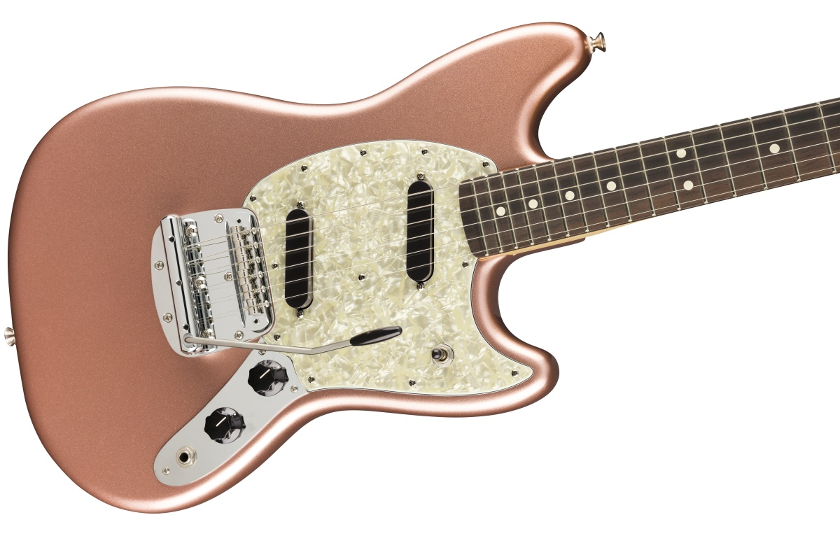 Fender USA / American Performer Mustang Rosewood Fingerboard Penny フェンダー【お取り寄せ商品/納期別途ご案内】《純正ケーブル&ピック1ダースプレゼント!/+661944400》
