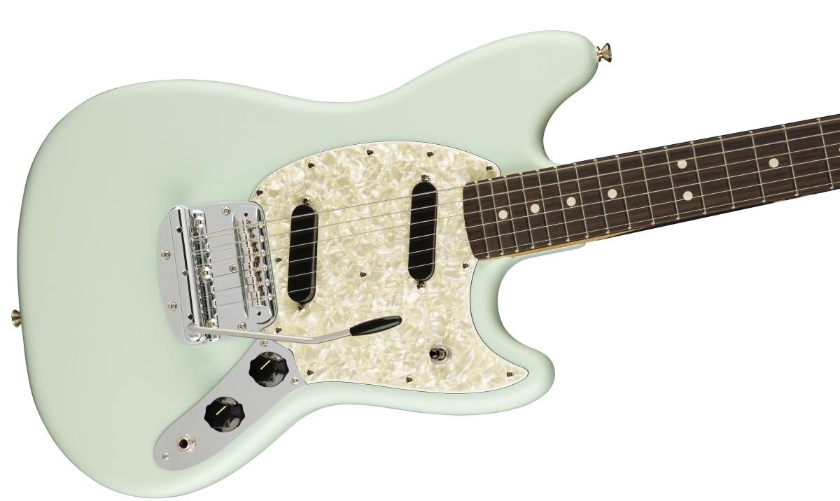 Fender USA / American Performer Mustang Rosewood Fingerboard Satin Sonic Blue フェンダー 《ランチボックスプレゼント! /+811176000》