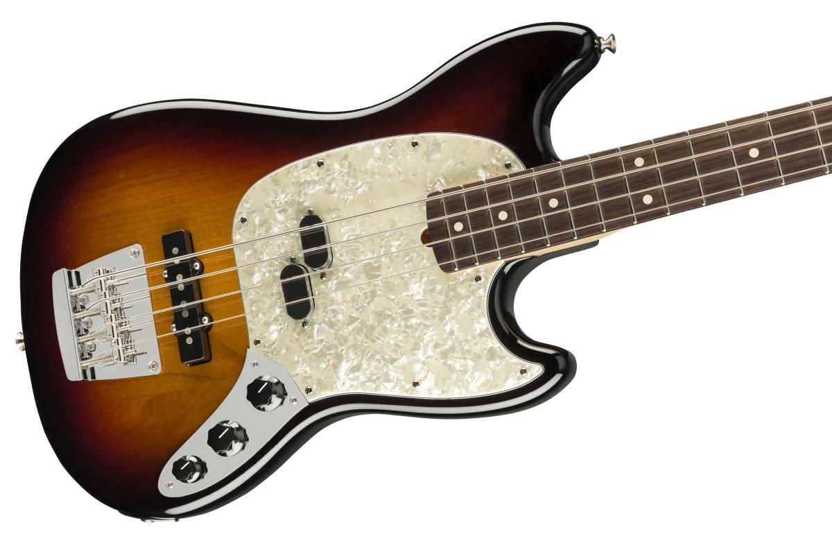 Fender USA / American Performer Mustang Bass Rosewood Fingerboard 3-Color Sunburst フェンダー 【お取り寄せ商品/納期別途ご案内】《純正ケーブル&ピック1ダースプレゼント!/+661944400》