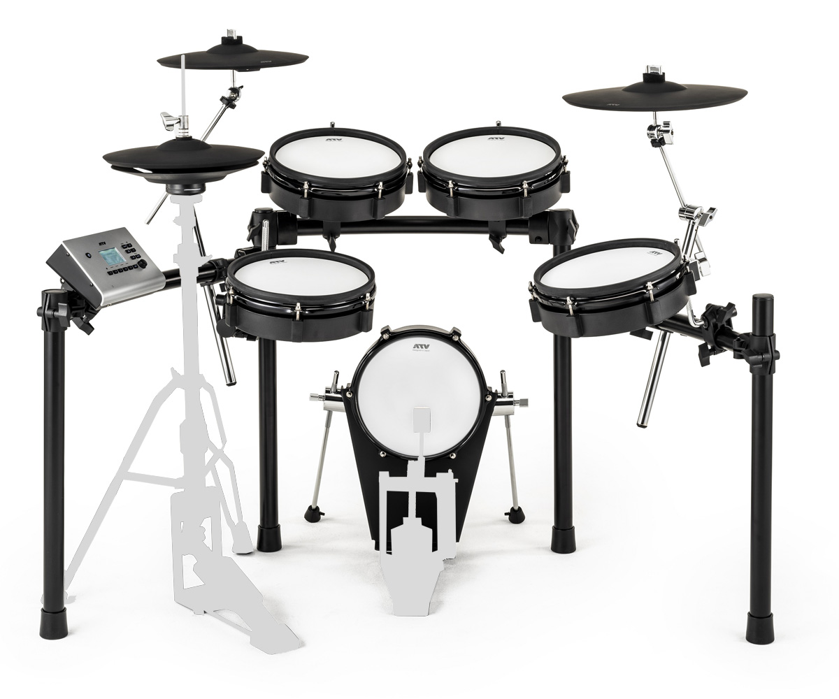 ATV / EXS-3 電子ドラム / キックペダルとハイハットスタンド別売