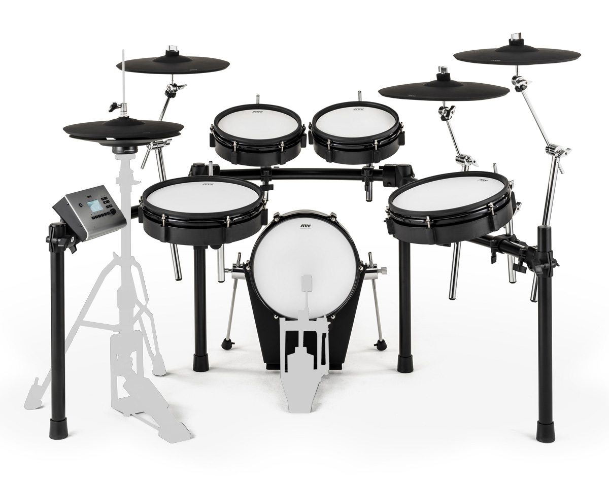 ATV / EXS-5 電子ドラム / キックペダルとハイハットスタンド別売