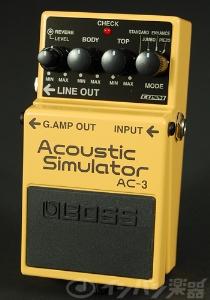 【ご購入特典つき!】BOSS / AC-3 Acoustic Simulator ボス アコースティックシミュレーター【YRK】《/80-set12101/+811182200》