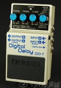 新作 BOSS / DD-7 Digital Delay ボス ディレイ【YRK】《9Vマンガン電池2個プレゼント!/+681215700×2》, 有田市 e593fff6