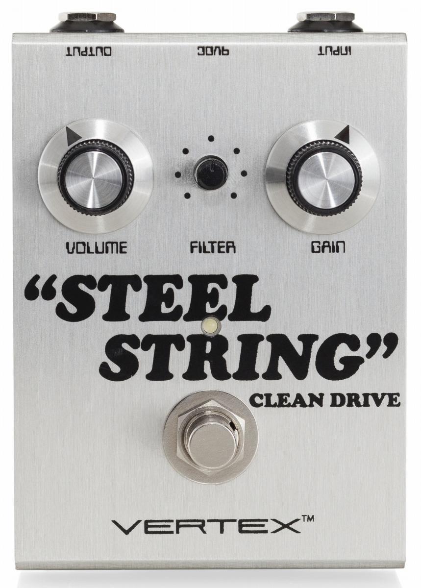 Vertex / Steel String Clean Drive オーバードライブ【お取り寄せ商品】