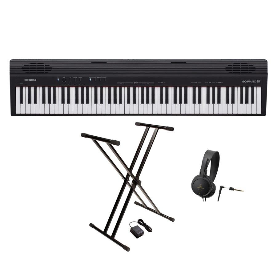 『1年保証』 Roland Roland ローランド/ GO-88P(GO:PIANO88)【スタンド&ヘッドホンセット/!】88鍵盤 エントリー・キーボード《予約注文/2019年3月23日発売予定》【YRK】, ミドリク:e21fbab4 --- konecti.dominiotemporario.com