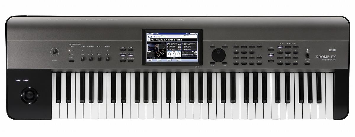 【在庫あり】KORG コルグ / KROME 61EX 61鍵盤ワークステーション【YRK】
