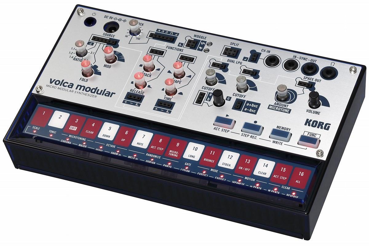 【在庫あり】KORG コルグ / volca modular セミ・モジュラー・アナログ・シンセサイザー【YRK】