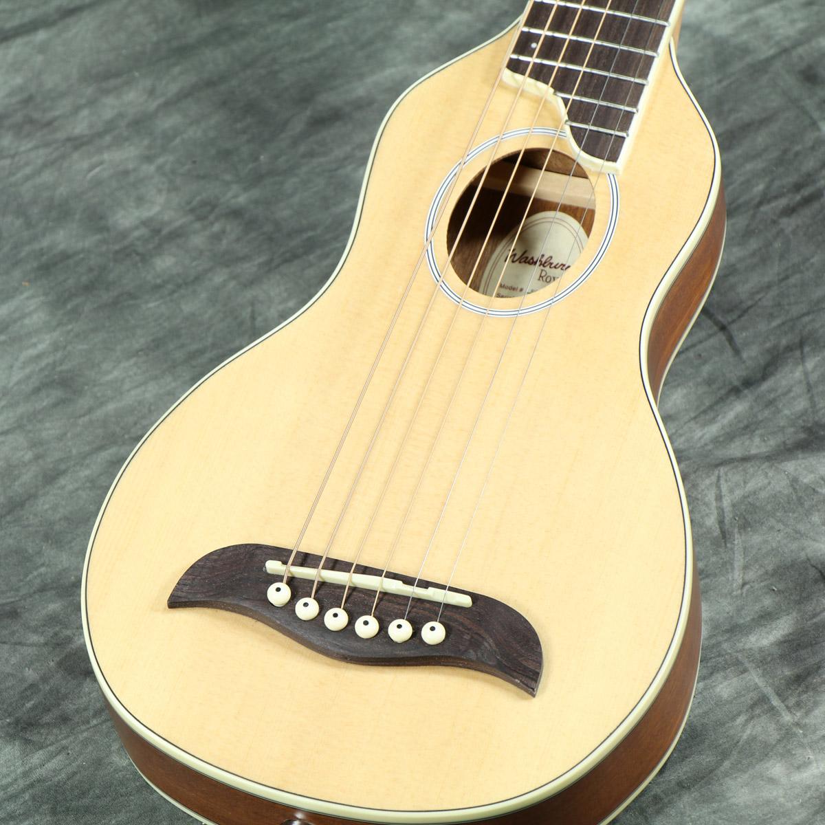 【タイムセール:29日12時まで】Washburn / RO10SK (ナチュラル) 【トラベルギター】 ワッシュバーン ミニ アコースティックギター アコギ RO-10