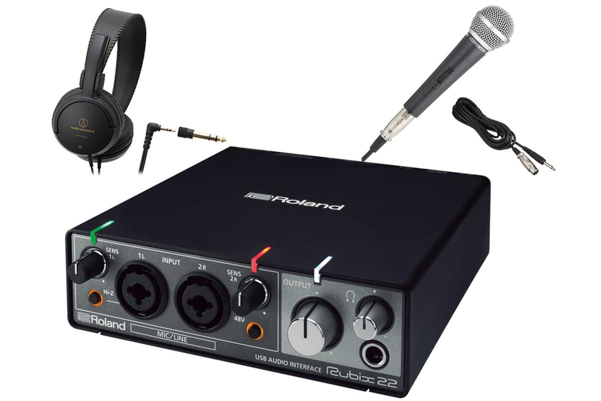 Roland ローランド / Rubix22 USBオーディオ・インターフェース 【スタートセット!】【YRK】