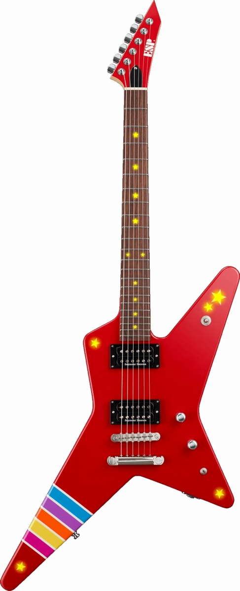 ESP / RANDOM STAR Kasumi III -LED- バンドリ Collaboration Poppin Party Series 戸山香澄モデル《受注生産/納期目安6カ月から》