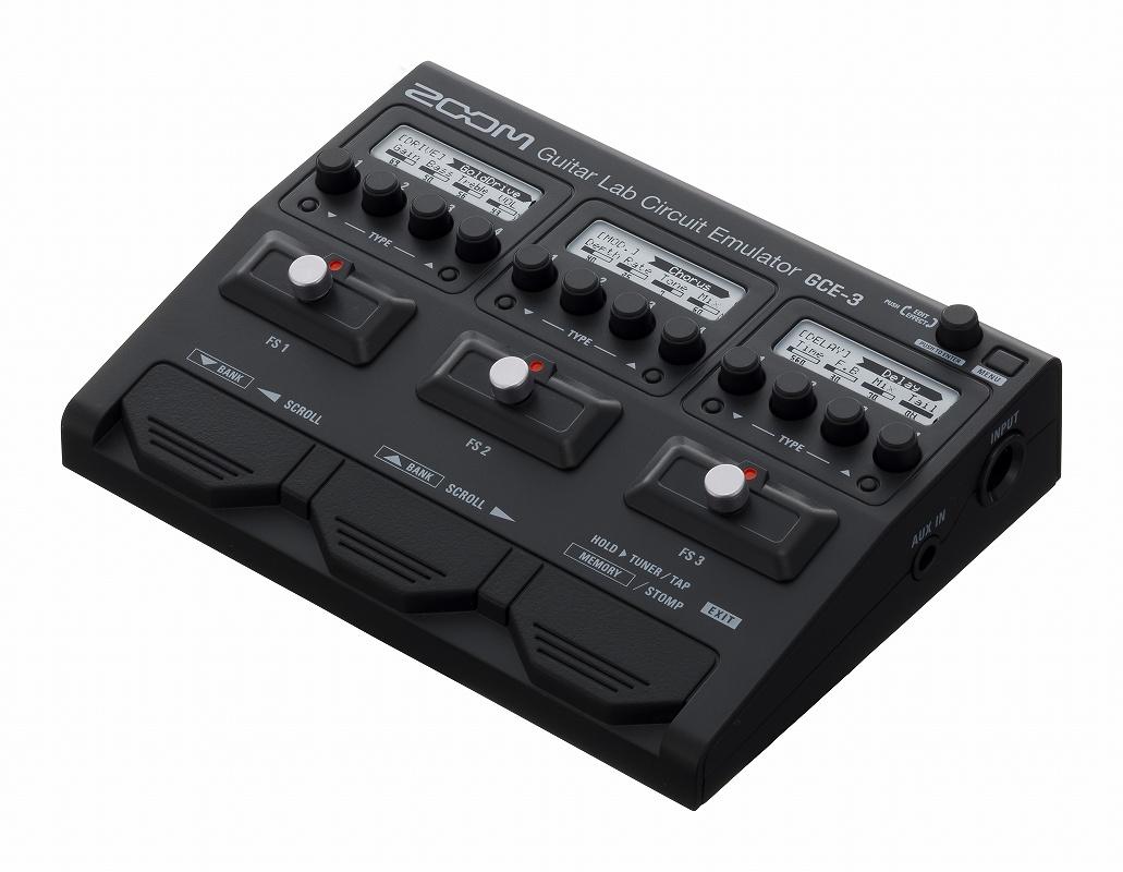 ZOOM ズーム / GCE-3 ギター/ベース用USBオーディオ・インターフェース