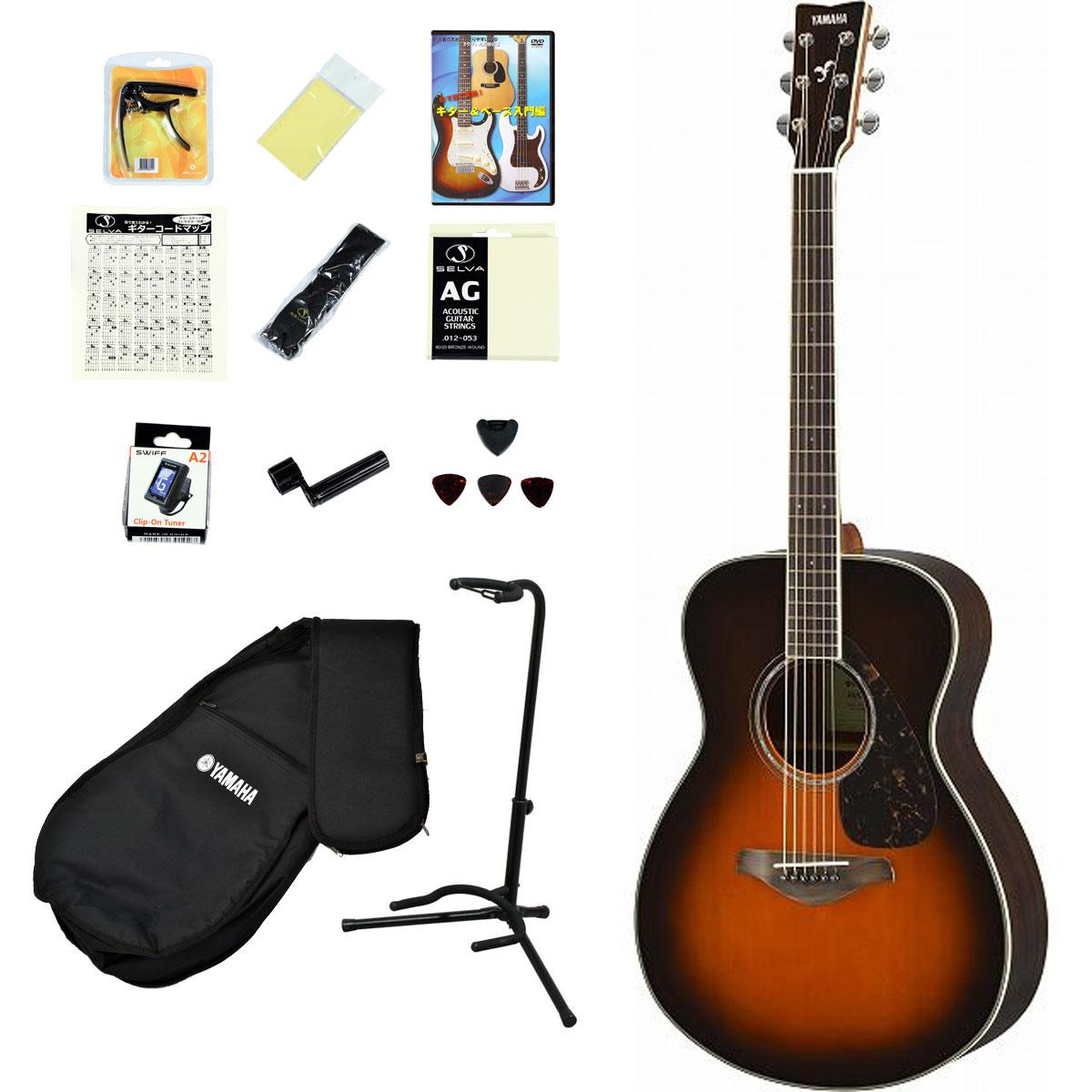 YAMAHA / FS830 TBS(タバコブラウンサンバースト) 【アコースティックギター14点入門セット!】 ヤマハ アコギ フォークギター FS-830 入門 初心者【YRK】