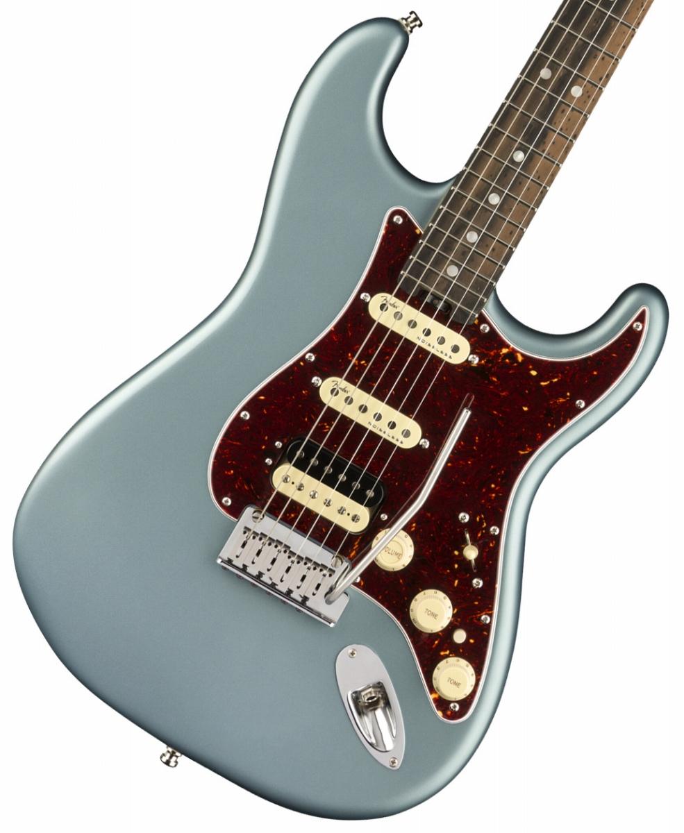Fender USA / American Elite Stratocaster HSS ShawBucker Satin Ice Blue Metallic Ebony Fingerboard《純正ケーブル&ピック1ダースプレゼント!/+661944400》