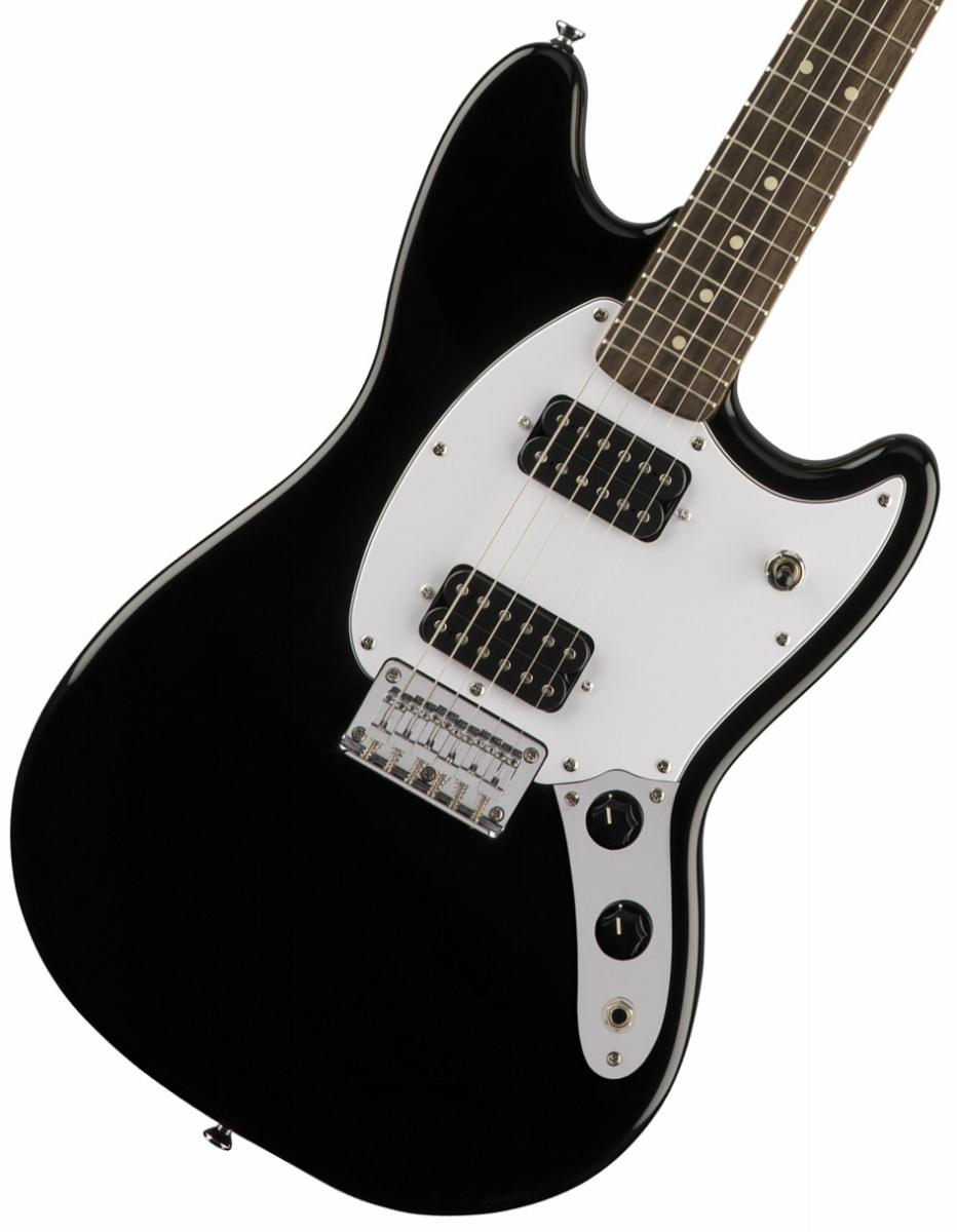 Squier by Fender / Bullet Mustang HH Black Indian Laurel スクワイヤ