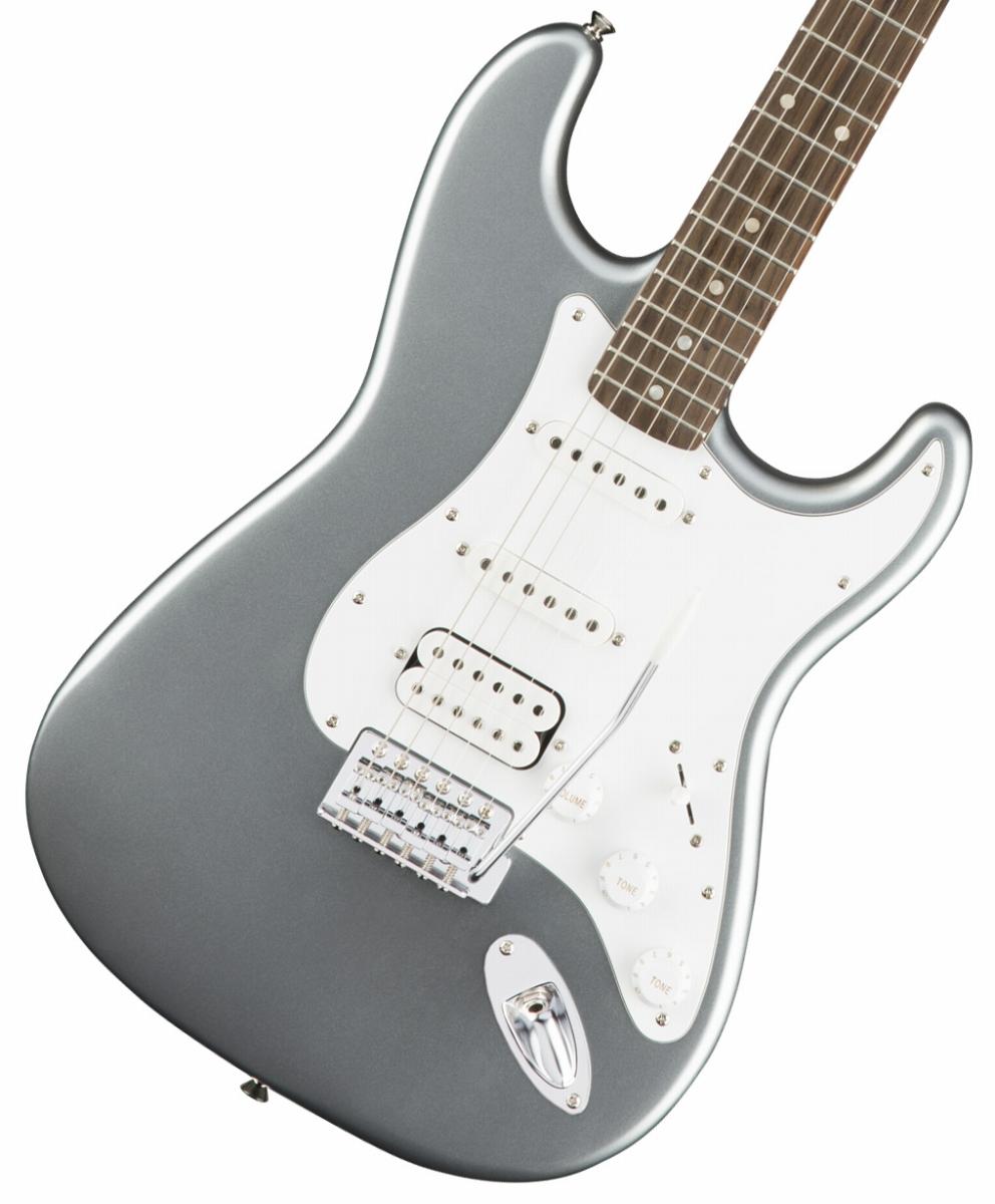Squier by Fender / Affinity Stratocaster HSS Slick Silver Laurel Fingerboard