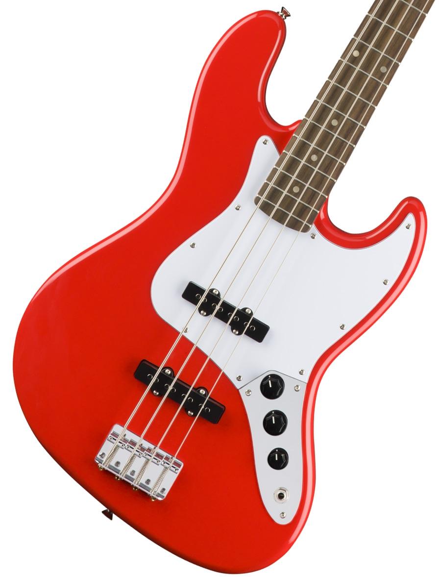 【タイムセール:29日12時まで】Squier by Fender / Affinity Jazz Bass Race Red Laurel Fingerboard【限定モデル】《純正バレットチューナープレゼント!/+621153790》